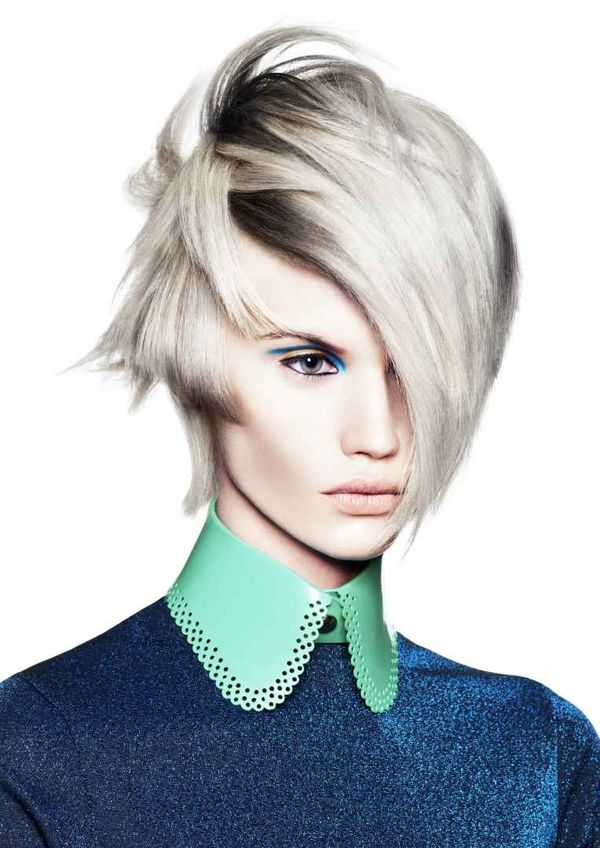 Hairstyles with Hair Short On One Side Long On the Other 2