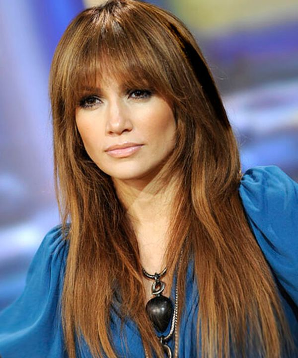 Ideas of long layers with bangs for women 3