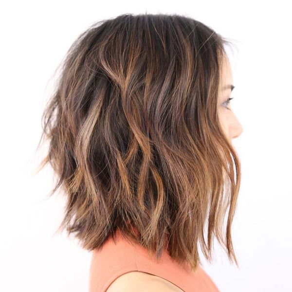 Shag hairstyles for thick hair 3