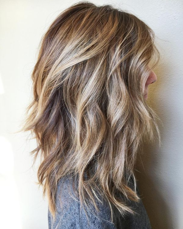 Shag hairstyles for thick hair 4