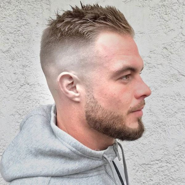Good Fade Haircuts for Receding Hairline 3