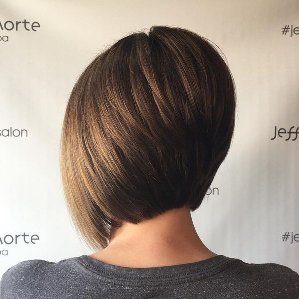 Stacked Inverted Bob Style 5