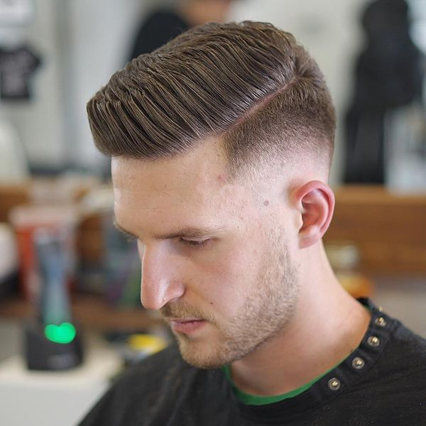 Cool mens side parted hair ideas 4