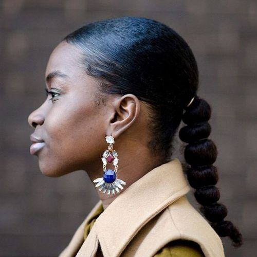 Black Women Hairstyles for Long Natural Hair 1