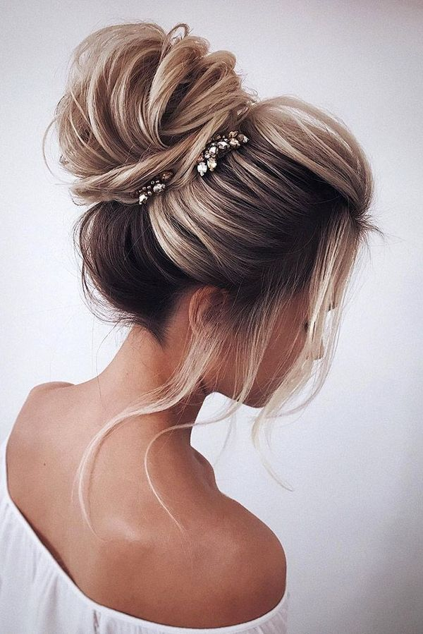 Best Wedding Hairstyles For Girls With Long Thick Hair 1