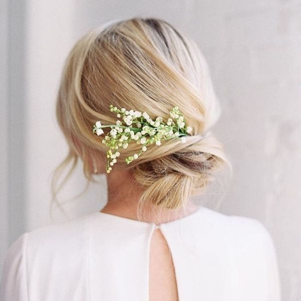 Best Wedding Hairstyles For Girls With Long Thick Hair 2