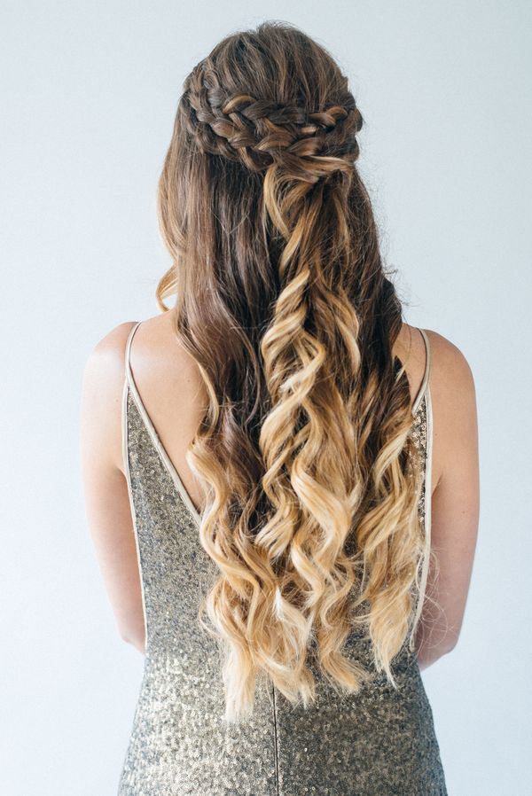 Bridesmaid And Wedding Guest Hairstyles For Long Hair 2