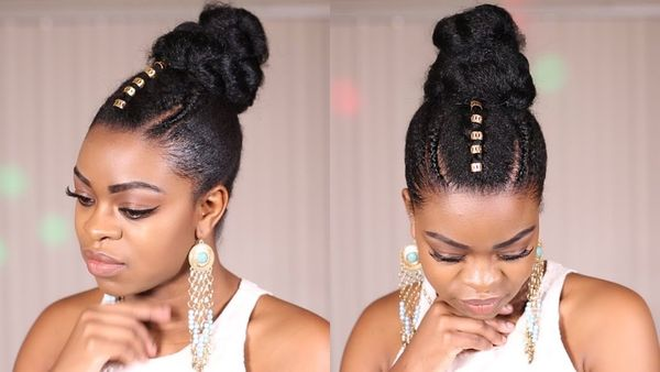Long Natural Hair Styles to Give a Try To 1