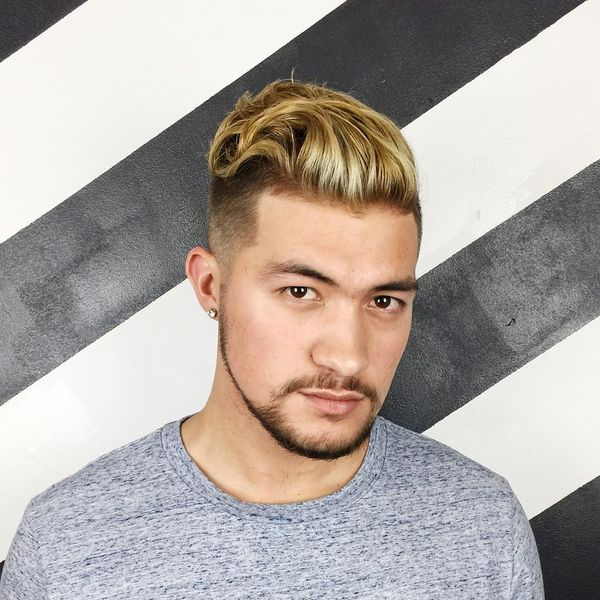 Trendy Hairstyles for Men with Dark Blonde Hair Color 2