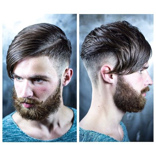 Stylish long haircuts for hipster guys 2