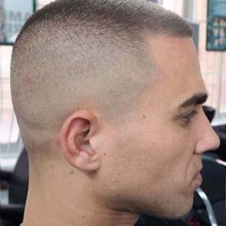 Extremely Short Military Haircut 3