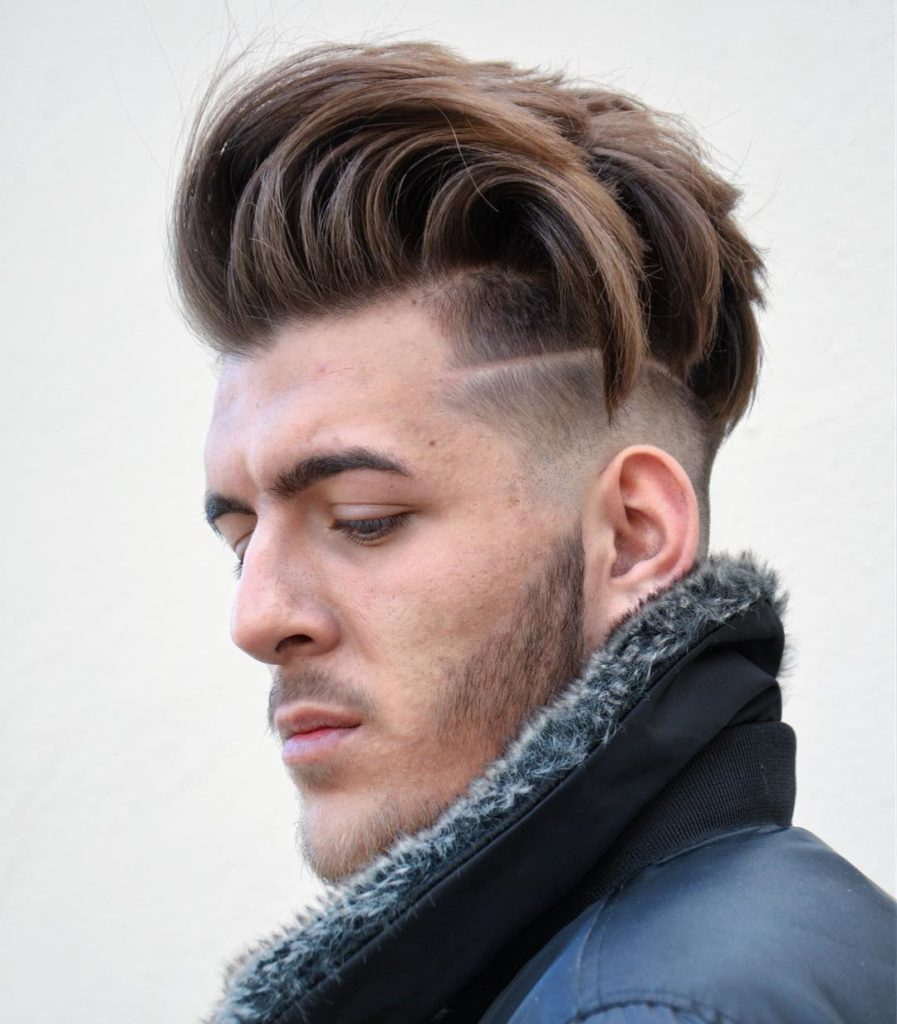Awesome Side Quiff Haircuts 1