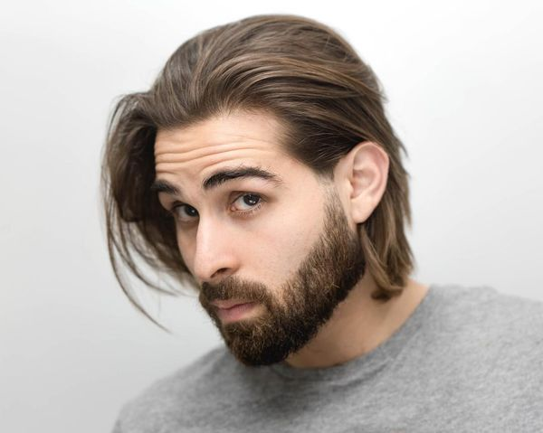 Awesome Long Messy Hair Ideas For Guys 4
