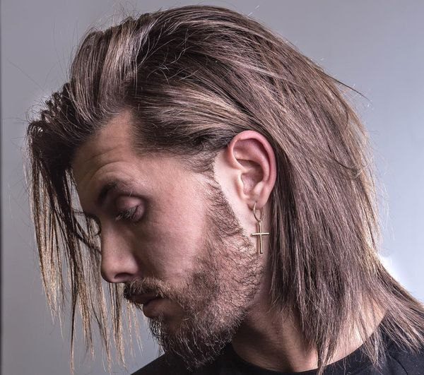 Awesome Long Messy Hair Ideas For Guys 5