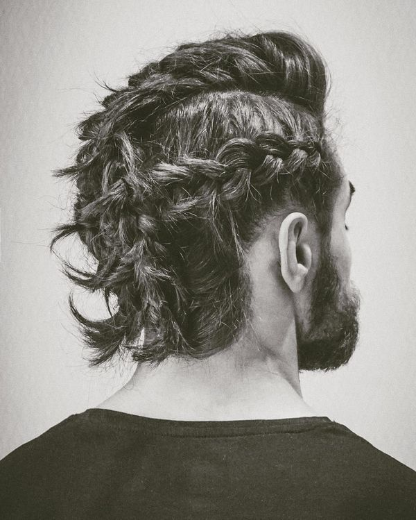 Awesome Long Messy Hair Ideas For Guys 9