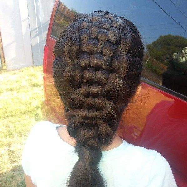 Awesome ideas of long plaited hair 4