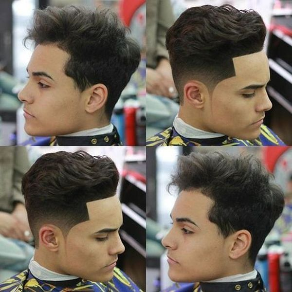 Awesome male haircuts for thick wavy hair 4