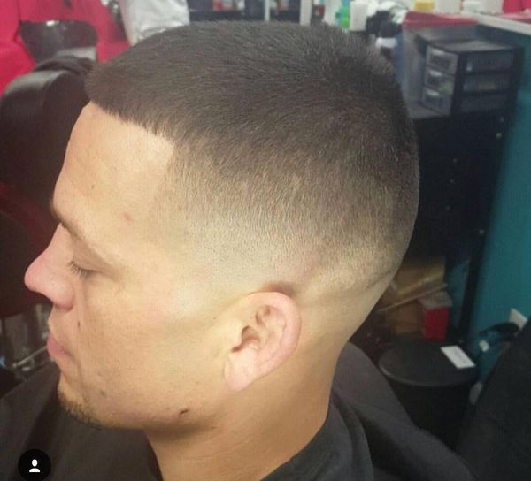 Bald tapered fade cuts 2
