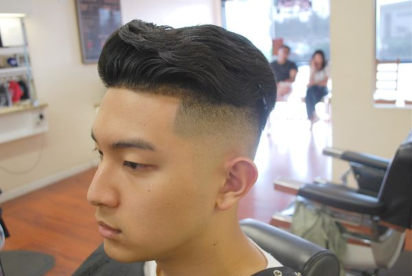 Bald tapered fade cuts 3