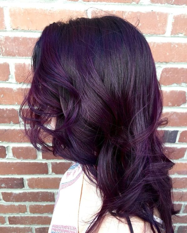 Burgundy Purple Hair 3