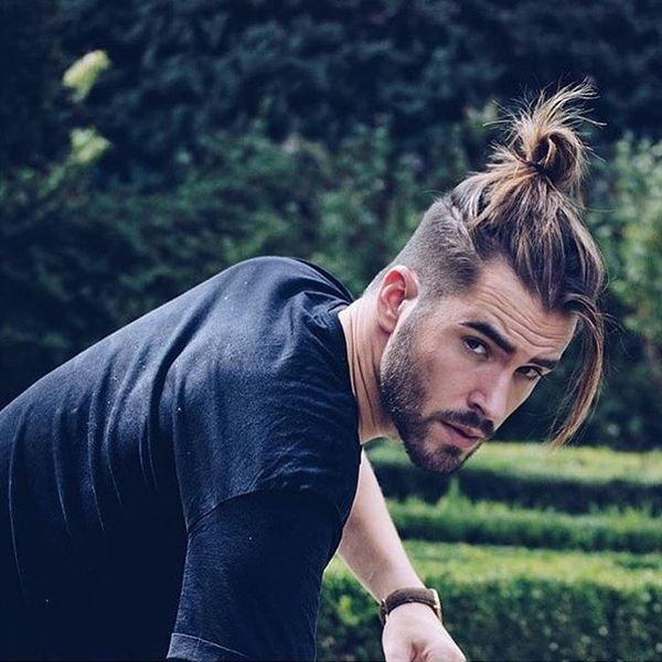 Cool Male Top Knot Hairstyles 2