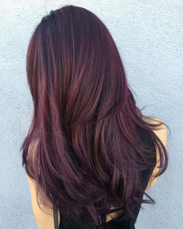 Cool Maroon Hair Color to Try 1