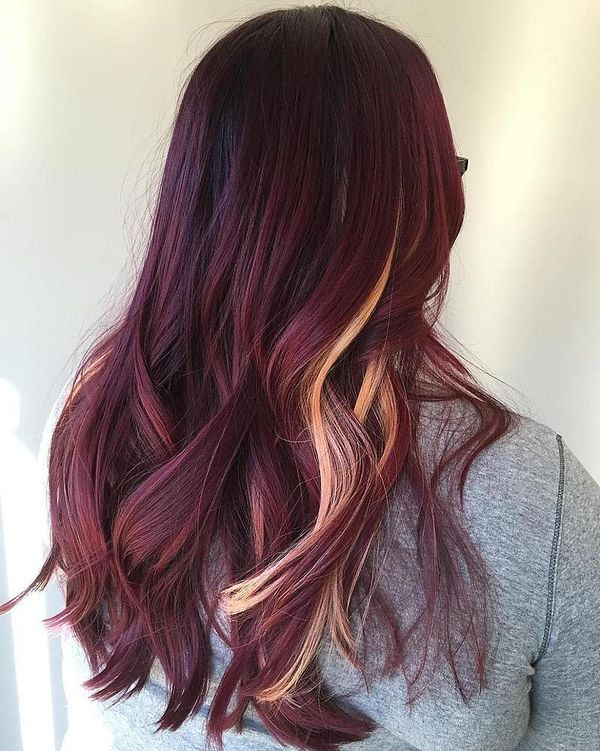 Cool Maroon Hair Color to Try 2