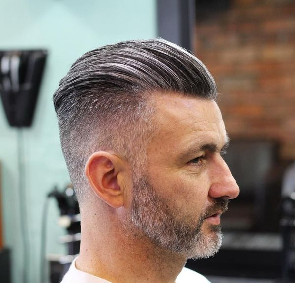 Cool Short Slicked Back Hair Styles 3