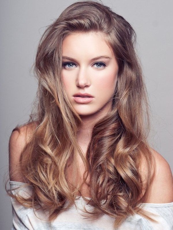 Cool ideas for brown hair color with highlights 4