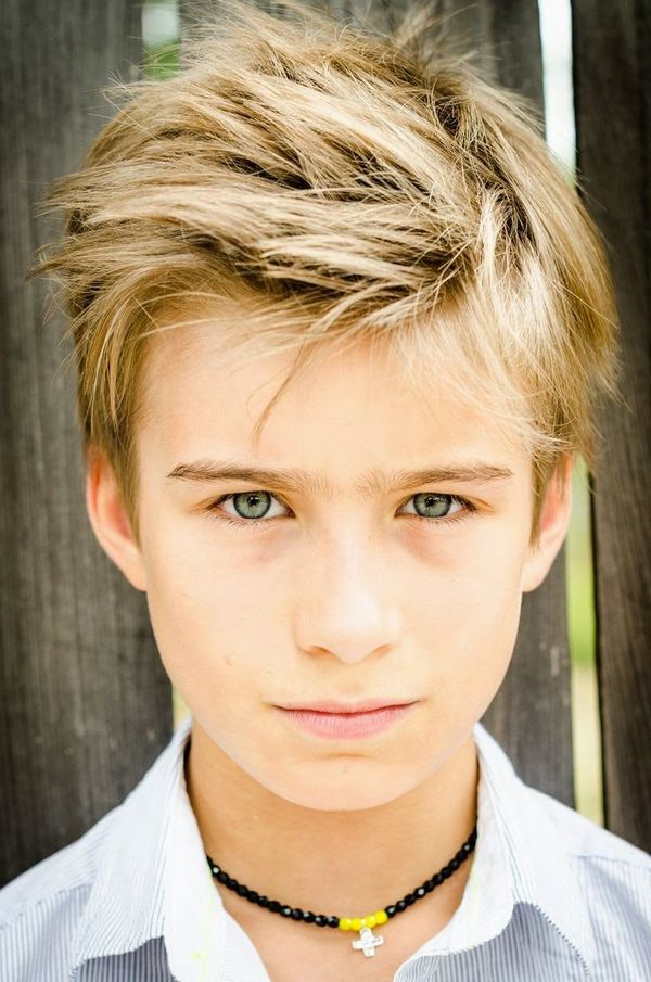 Cute Messy Hair Styles For Boys 1
