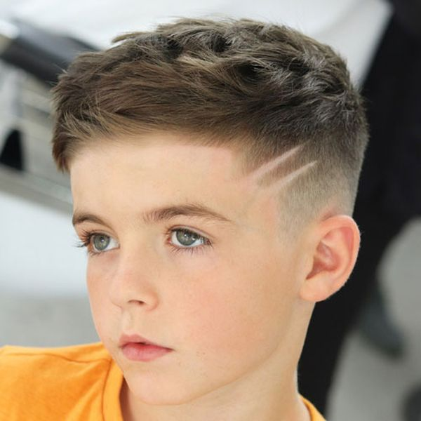 Cute Messy Hair Styles For Boys 3