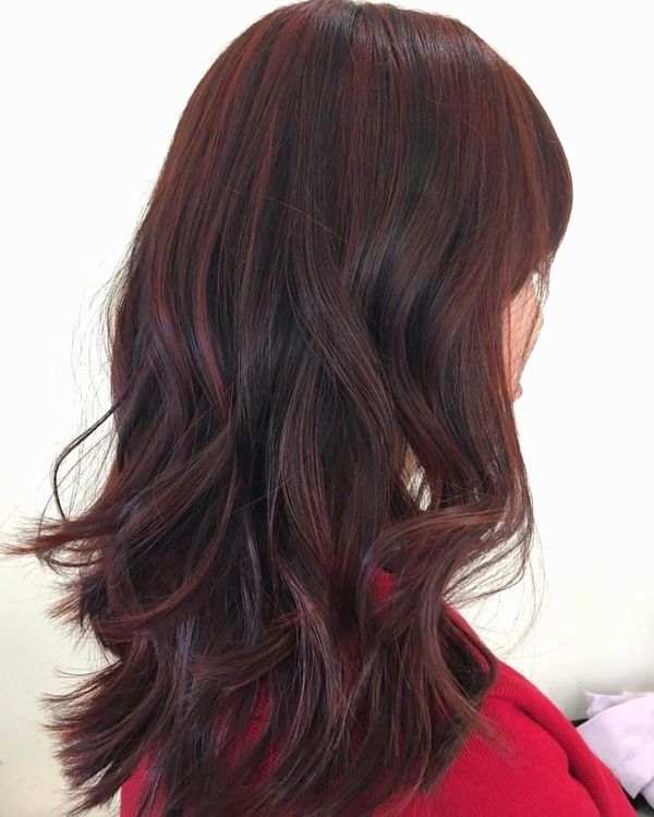 Dark Burgundy Hair Color 3