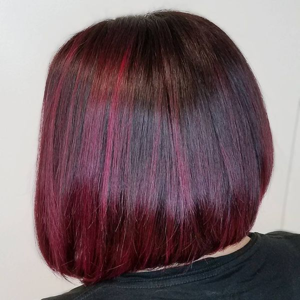 Dark Purple Reddish Hair 3
