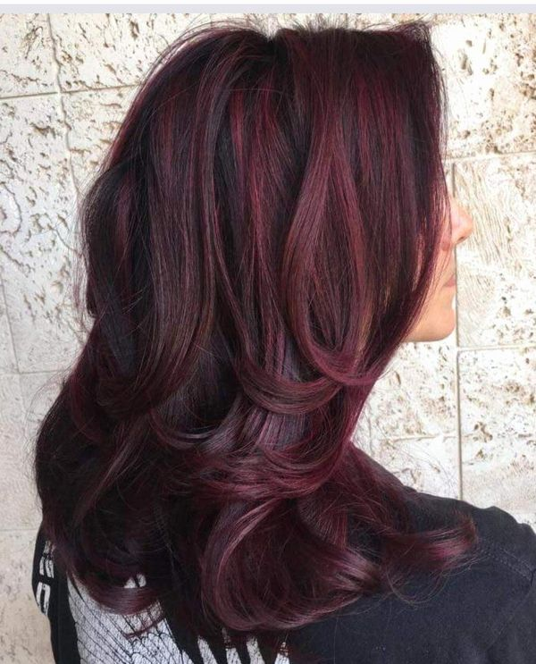 Deep Burgundy Brown Hair Color 3