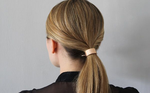Easy Updo Hairstyles For Medium Straight Hair 1