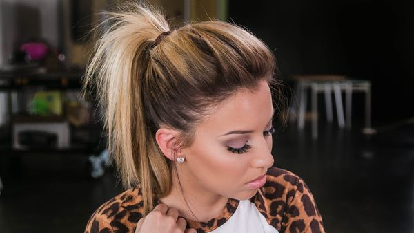 Easy Updo Hairstyles For Medium Straight Hair 2