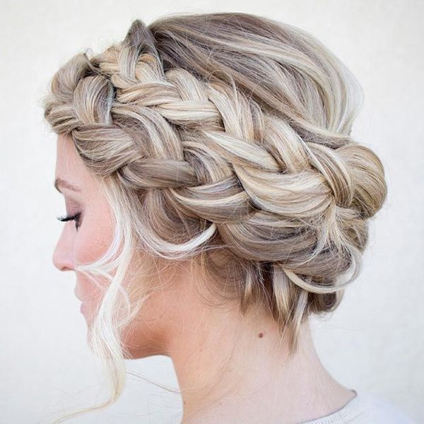 Fancy long braids for thick hair 4