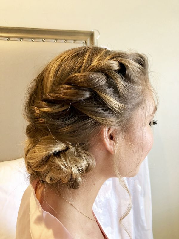 Formal braided hairstyles for girls with long hair 4