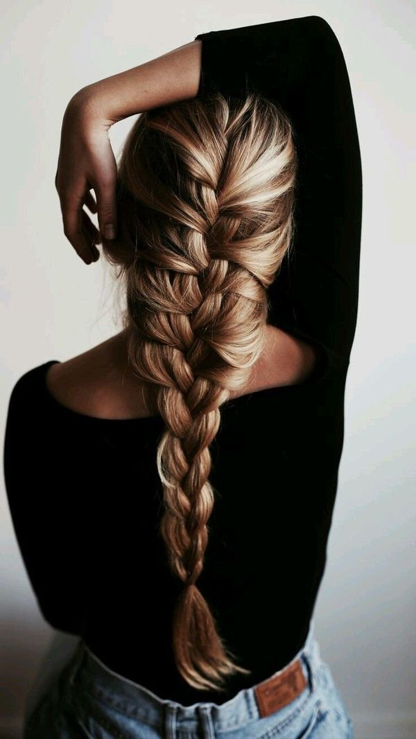 French braid ideas for really long hair 5