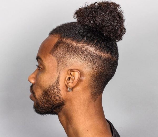 How to Do a Top Knot Ideas for Men 2