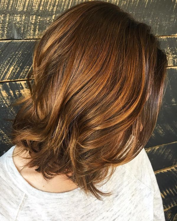 Layered Long Bob Hairstyles For Thick Hair 19