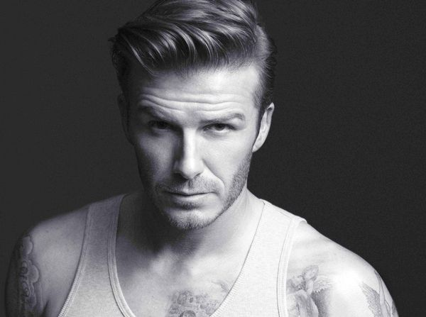 Male Hairstyles with Swept Back Hair 1