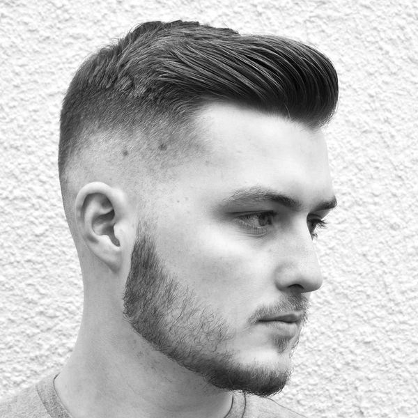 Male Hairstyles with Swept Back Hair 3
