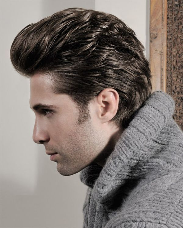 Medium length haircuts for men with thick hair 2