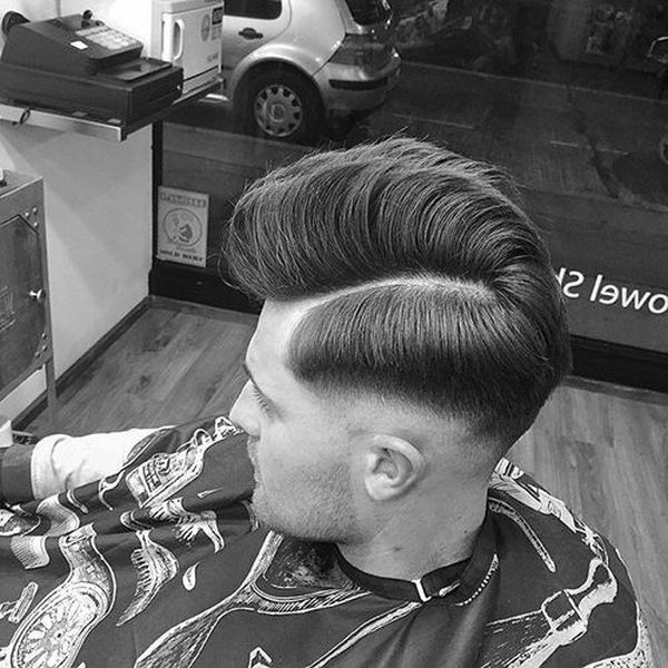 Medium length haircuts for men with thick hair 3
