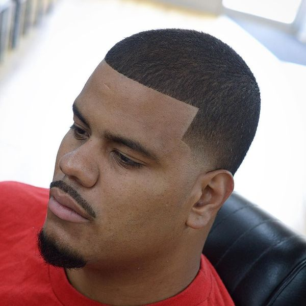 Mens line up taper fade hairstyles 1