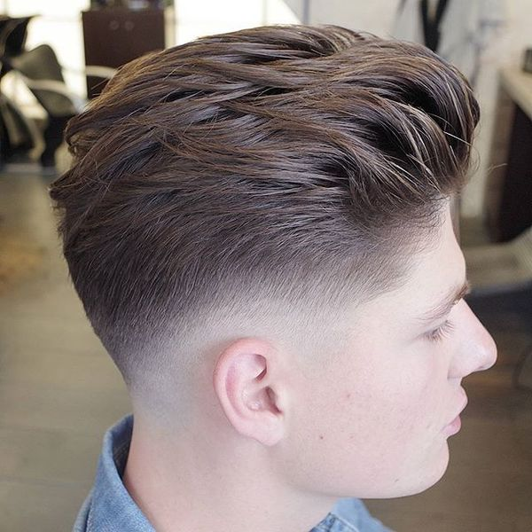 Messy Hairstyle For Men With Straight Hair 1