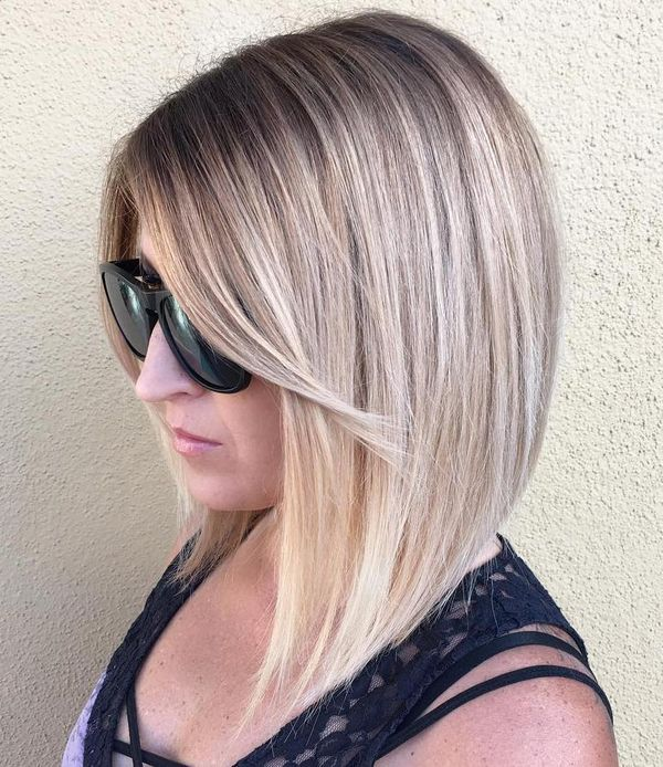 Mid Length Layered Haircuts for Thin Straight Hair 3