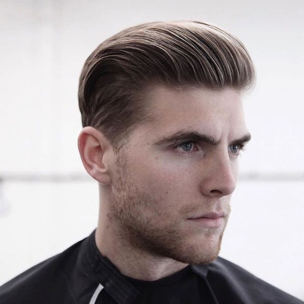 Modern Hairstyles with Hair Slicked Back 1