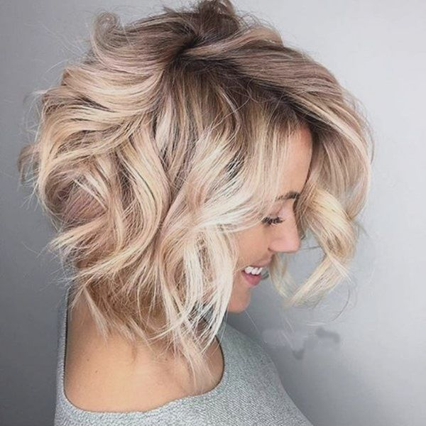 Wavy Hairstyles Short Hair 23